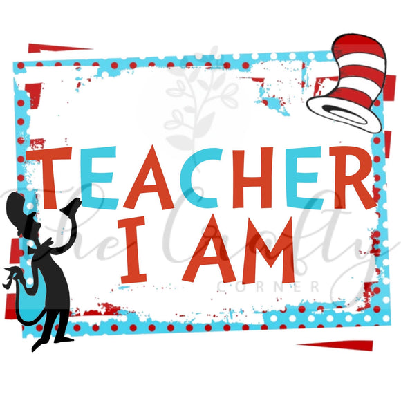 Teacher I Am Transfer