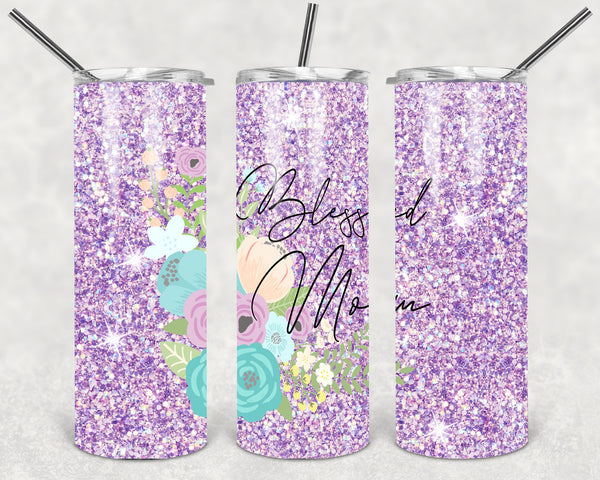 Blessed Mom Tumbler Wrap