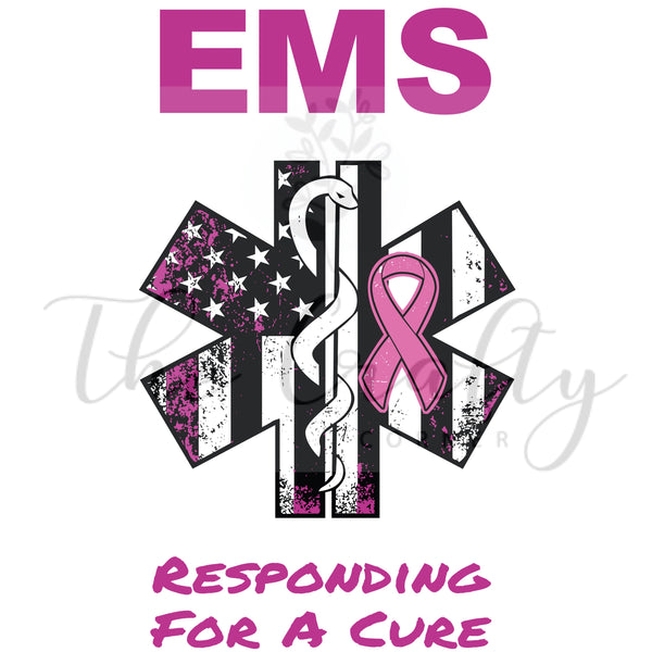 EMS Responding For A Cure Transfer