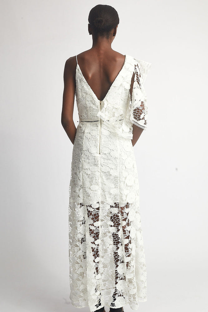 Two Shoulder Lace Dress