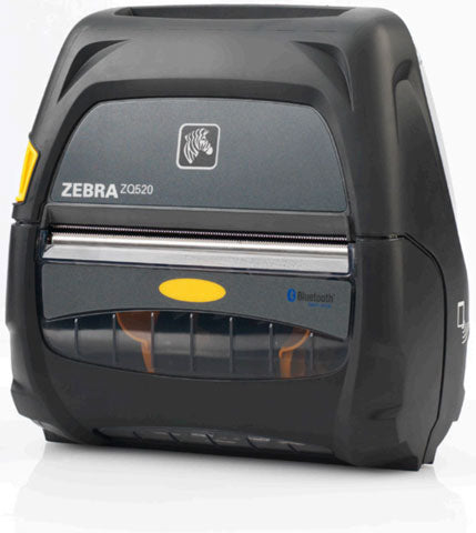 ZEBRA AIT, PRINTER, DT, ZQ520, DUAL RADIO (BLUETOOTH 3.0/WLAN), LINERED PLATEN, ACTIVE NFC, NO BATTERY (FOR USE WITH BATTERY ELIMINATOR OR EXTENDED BATTERY OPTIONS), ENGLISH, GROUPING 0