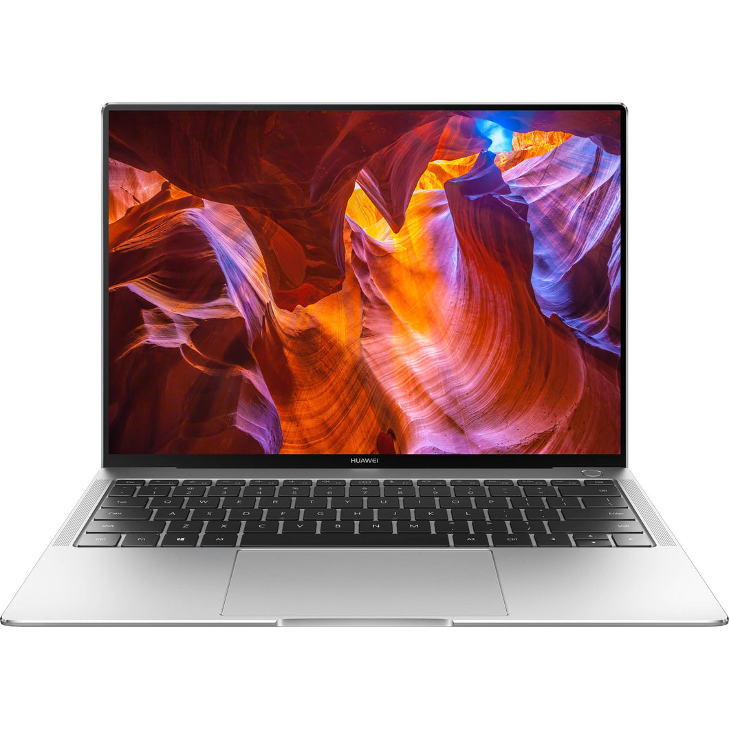 Huawei Notebook 53010BVV MateBook X Pro Signature 13.9 inch 3K Touch 8th Gen i5-8250U 8 GB RAM 256 GB SSD Intel UHD620 Windows 10 Home Mystic Silver Retail