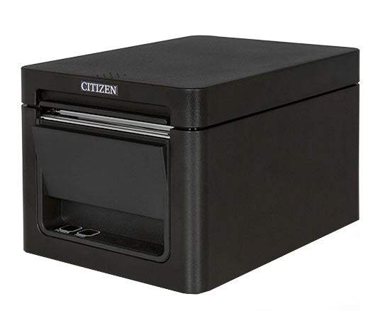 CITIZEN, THERMAL POS, CT-E651, FRONT EXIT, USB & LAN, BK