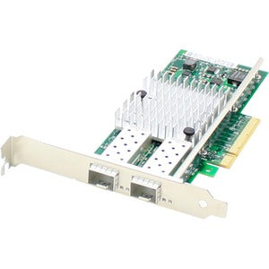 AddOn QLogic QLE8362-SR-CK Comparable 10Gbs Dual Open SFP+ Port PCIe x8 Network