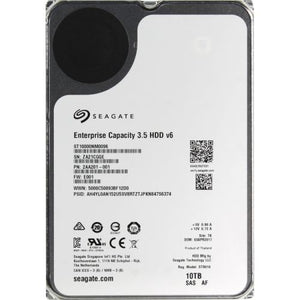Seagate HDD ST10000NM0096 10TB 3.5 inch 7200RPM 256MB 12GB/s Enterprise Bare