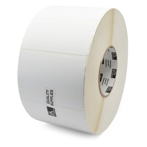 "ZEBRA, CONSUMABLES, KIMDURA, POLYPRO 4000T THERMAL TRANSFER LABEL, REMOVABLE ADHESIVE, 4"" X 2"", 3"" CORE, 8"" OD, 1000 LPR, 1 RPC, PRICED PER ROLL"