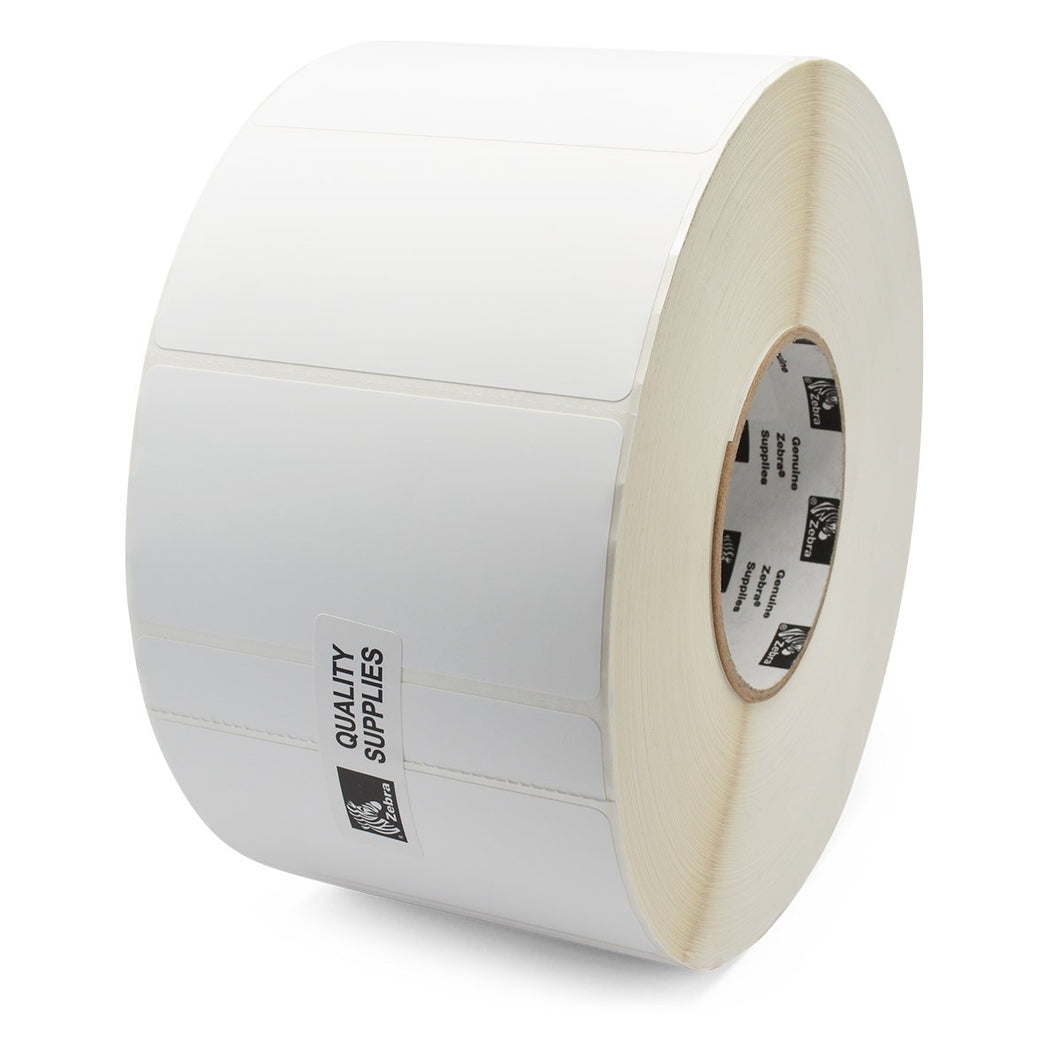 ZEBRA, CONSUMABLES, KIMDURA, POLYPRO 4000T THERMAL TRANSFER LABEL, REMOVABLE ADHESIVE, 4