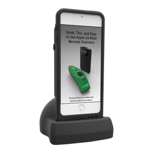 SOCKET MOBILE, DURACASE AND CHARGING DOCK FOR 800 SERIES SCANNERS - IPOD TOUCH 5TH/6TH GENERATION