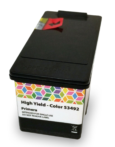 LX910 COLOR/PROCESS BLACK INK CARTRIDGE, PIGMENT-BASED