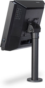 SPACEPOLE, ESSENTIALS: TOP SCREEN 75/100 VESA DISPLAY MOUNT ON 300MMM POLE, TILT ADJUSTMENT: +10/-90, MAXIMUM ROTATION 310 DEGREES, DURABLE STEEL, INCLUDES CABLE CLIP, FLANGE & MOUNTING HARDWARE (BLA
