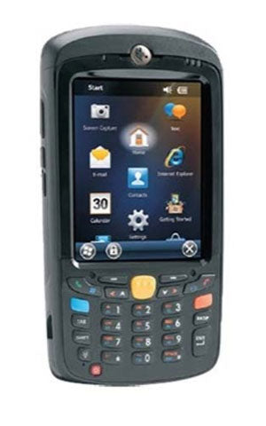 ZEBRA EVM, MC55XL, WLAN, 2D IMAGER (SE4710), CAMERA, WEHH 6.5, 512MB/2GB, NUMERIC KEY, BLUETOOTH, 3600 MAH BATTERY, WORLDWIDE EXCEPT US