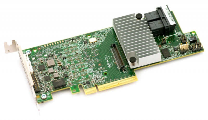 LSI Logic Controller Card 05-25420-10/03 MegaRAID 9361-4i Single 4Port SATA/SAS PCI-Express 3 1GB DDR3 Brown Box
