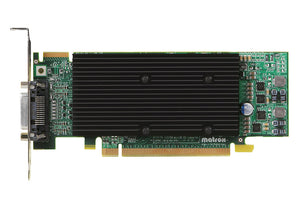 Matrox Video Card M9120-E512LPUF Plus Low Profile PCI-Express x16 512MB DDR2 DualHead RoHS and WEEE