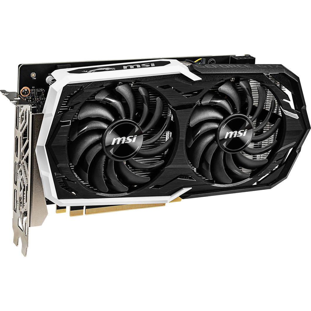 MSI Video Card G1660TAR6C GTX 1660 Ti ARMOR 6G OC 6GB DisplayPortx3/HDMI ARMOR FAN Retail