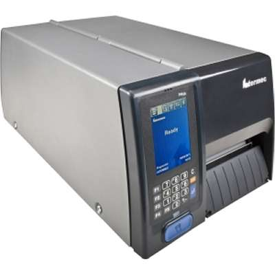HONEYWELL, RETIRING, NCNR,PM43C, THERMAL TRANSFER PRINTER, COLOR TOUCHSCREEN, USB, SERIAL, ETHERNET, LAN, SHORT DOOR, FRONT ACCESS, REWINDER, LTS, FIXED HANGER, REAL TIME CLOCK, 300 DPI, NA POWER COR