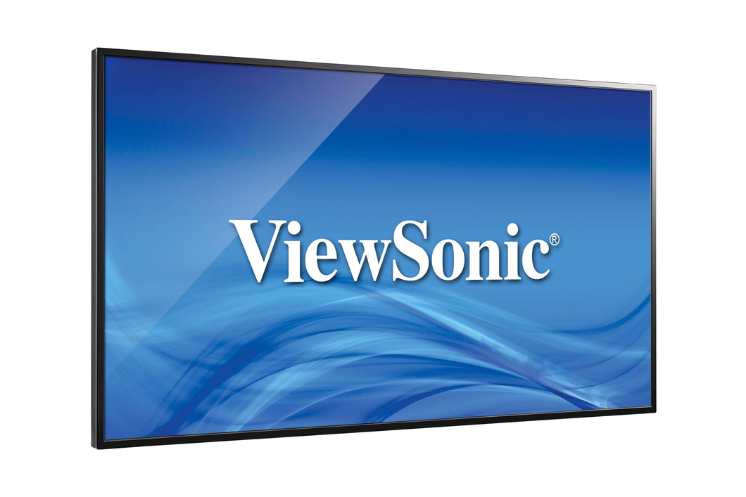 ViewSonics new CDE4302 43IN Full HD commercial display, 1920 x 1080, 350 nits, H