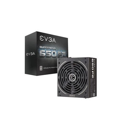 EVGA Power Supply 220-P2-0650-X1 SuperNOVA 650 P2 Platinum 650W with Free Power on Self Tester PSU Retail