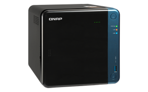 QNAP Network Attached Storage TS-453Be-2G-US 4Bay Celeron J3455 4Core 1.5Ghz 2GB DDR3L SATA 6Gb/s Retail