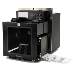 ZEBRA AIT, PAX PRINTER ENGINE, ZE500-4, 300 DPI, LEFT HAND, RS-232 SERIAL, PARALLEL USB 2.0, INTERNAL ZEBRANET 10/100 PRINT SERVER, 120 VAC POWERCORD