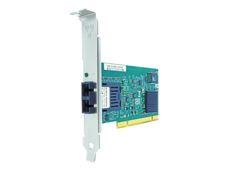 Axiom 1Gbs Single Port SC 10km SMF PCI NIC Card - GLX-NIC-SC-S-AX
