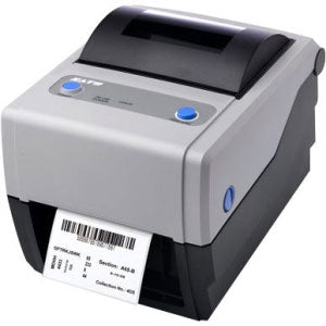 SATO, CG408, PRINTER, 4.1IN, 203DPI, 4IPS, USB/PARALLEL INTERFACE, TT (CERNER CERTIFIED PRODUCT)