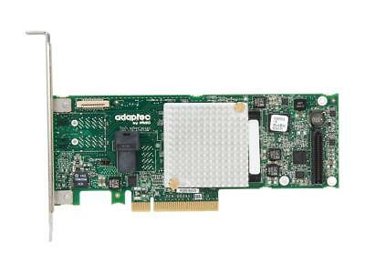 Adaptec Controller Card  2277600-R RAID 8405 12Gb/s PCI-Express SAS/SATA Low Profile MD2 Adapters Brown Box