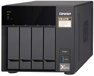QNAP Network Attached Storage TS-473-4G-US 4Bay AMD RX-421ND 4GB DDR4 4x 2.5 inch/3.5 inch 4xGbE LAN Retail