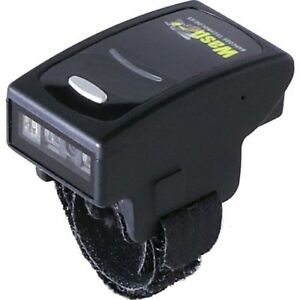 WASP, WRS100 SBR RING BARCODE SCANNER 1D WIRELESS, HANDS FREE, 2MB MEMORY, BLACK & YELLOW