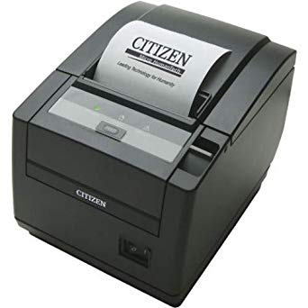 CITIZEN, THERMAL POS, CT-S600 TYPE II, TOP EXIT, ETHERNET, BLACK