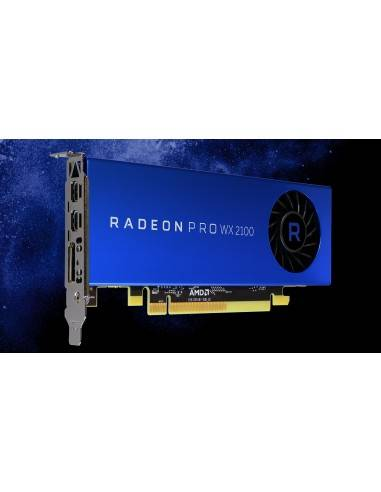 AMD Video Card 100-506001 Radeon Pro WX 2100 2GB GDDR5 10Bit PCI Express DisplayPort/2 x mini-DisplayPort Retail