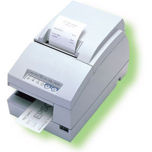 EPSON, TM-U675, DOT MATRIX RECEIPT, SLIP & VALIDATION PRINTER, ETHERNET, E04, EPSON COOL WHITE, NO MICR, NO AUTOCUTTER, REQUIRES POWER SUPPLY