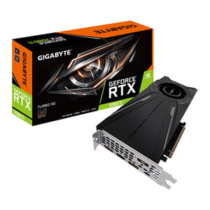 Gigabyte Video card GV-N208TTURBO-11GC GeForce RTX2080Ti Turbo 11GB GDDR6 352Bit DisplayPort/HDMI/USB Retail