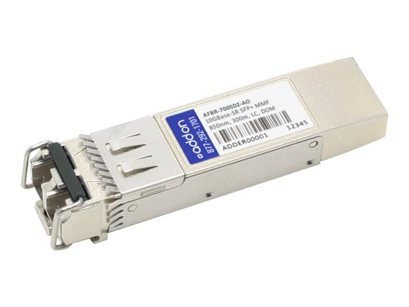 AddOn Avago AFBR-700SDZ Compatible TAA Compliant 10GBase-SR SFP+ Transceiver (MM