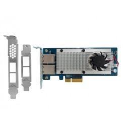 QNAP Network LAN-10G2T-X550 Dual-port 10Gbase-T Network Expansion Card Retail