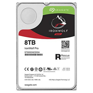 Seagate HDD ST8000NE0004 8TB 3.5 7200RPM 256MB SATA 6GB/s IronWolf Pro Bare