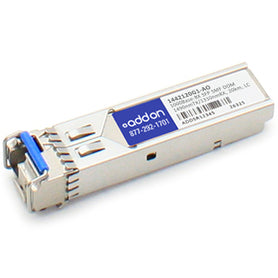 This ADTRAN 1442120G1 compatible SFP transceiver provides 1000Base-BX throughput