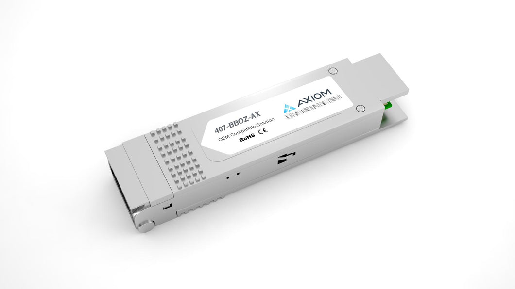 Axiom 40GBASE-SR4 QSFP+ Transceiver for Dell - 407-BBOZ
