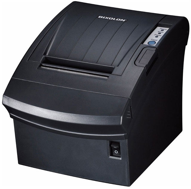 BIXOLON, SRP-350PLUSIIICOPG, THERMAL PRINTER PARALLEL+USB+ETHERNET BLACK P/S & USB CABLE INCL.