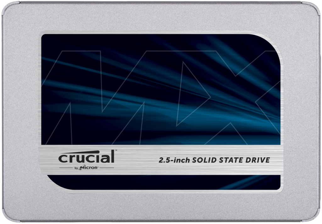 Crucial SSD CT1000MX500SSD1 MX500 2.5-inch 1TB SATA  7mm (with 9.5mm adapter) Internal SSD Retail