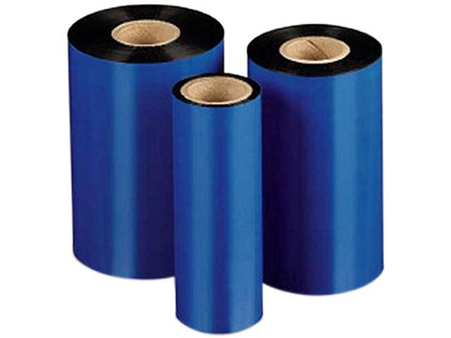 THERMAMARK, CONSUMABLES, THERMAL TRANSFER RIBBON, BLACK, STANDARD WAX/RESIN, 4.17