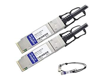 AddOn Enterasys 40GB-C01-QSFP Compatible TAA Compliant 40GBase-CU QSFP+ to QSFP+