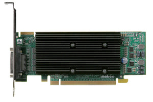 Matrox Video Card M9140-E512LAF Low Profile/ATX PCI Express x16 512MB QuadHead RoHS and WEEE