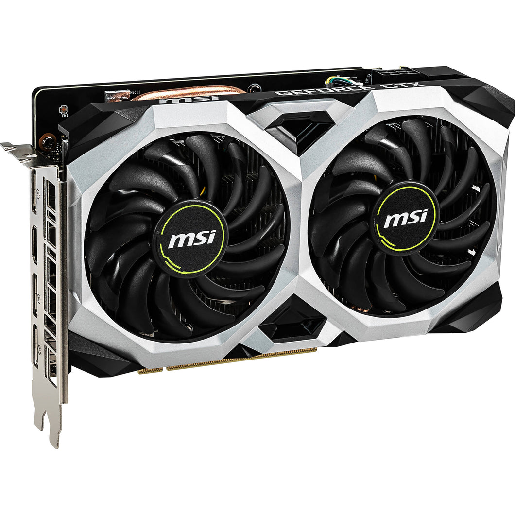 MSI Video Card G1660VXS6C GeForce GTX 1660 VENTUS XS 6GB OC DisplayPortx3/HDMI Brown Box