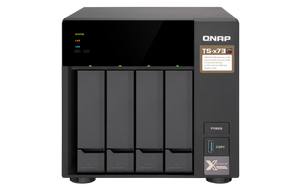 QNAP Network Attached Storage TS-473-8G-US 4Bay AMD RX-421ND 8GB DDR4 4x 2.5 inch/3.5 inch 4xGbE LAN Retail
