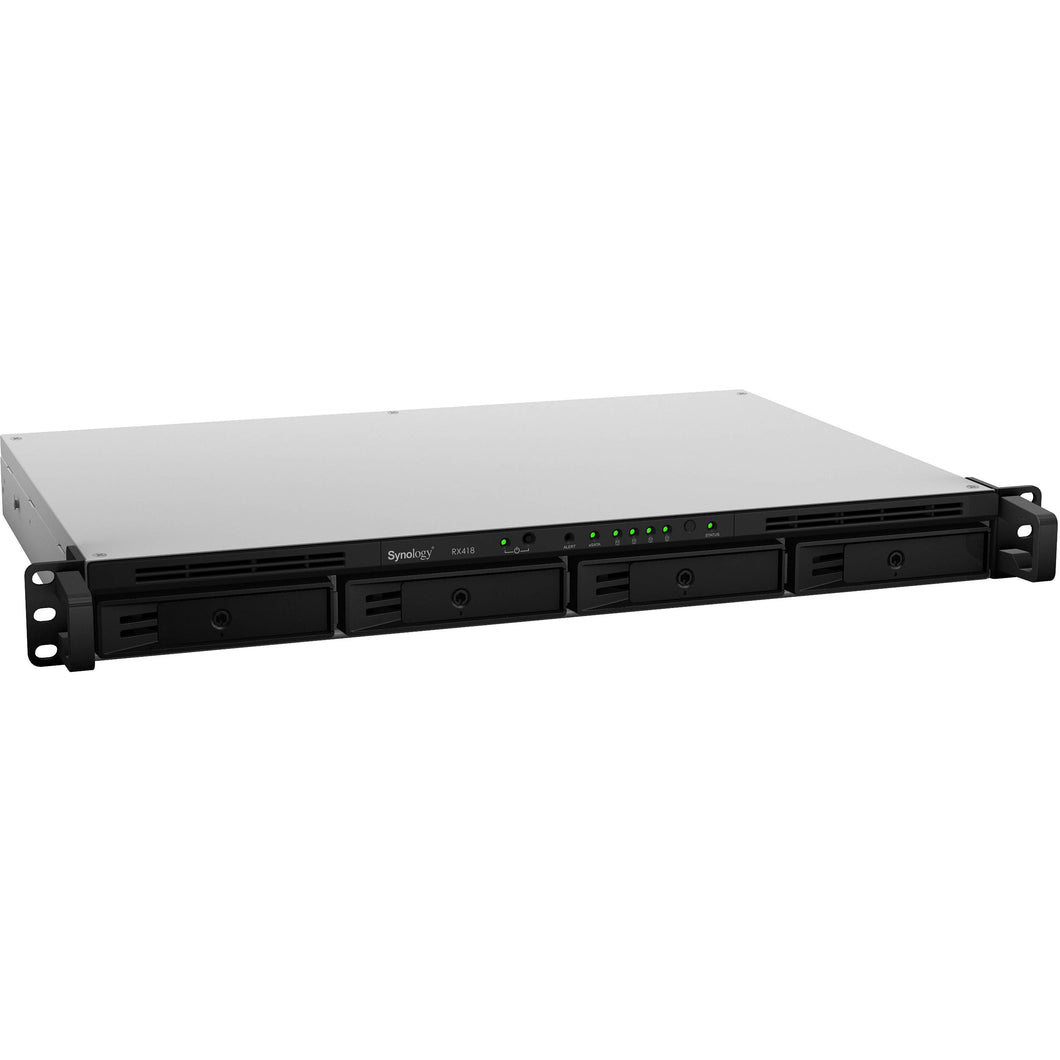 Synology Network Attached Storage RX418 1U 4Bay 1xeSATA Expansion Unit Retail
