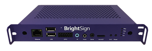 BRIGHTSIGN, SERIES 3 OPS COMPATIBLE DIGITAL SIGNAGE MEDIA PLAYER