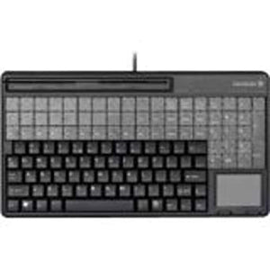 CHERRY, G86-61400, KEYBOARD, BLACK, 14IN, USB, 135 LAYOUT, 32 ADDITIONAL KEYS, 135 PROGRAMMABLE