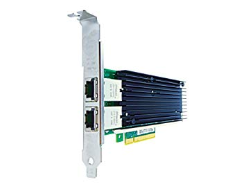 Axiom 10Gbs Dual Port RJ45 PCIe x8 NIC Card for IBM - 0C19497