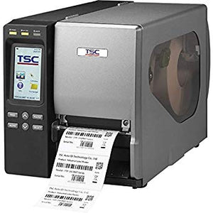 TSC, TTP-2410MT, PRINTER, 203 DPI, 14IPS, 8.2OD, TOUCH LCD, INTERNAL ETHERNET, USB, SER, PAR, USB HOST
