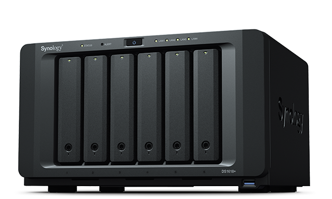 Synology NAS DS1618+ 6 bay Atom C3538 DiskStation 2.1GHz 4GB Retail